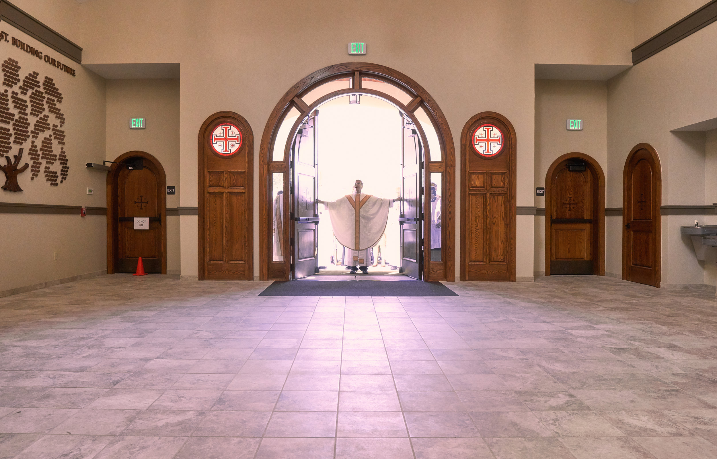Opening the Doors of Our New Church