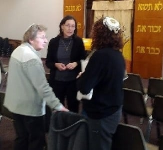 All are counted at Temple Israel for minyan, for the World Wide Wrap!
