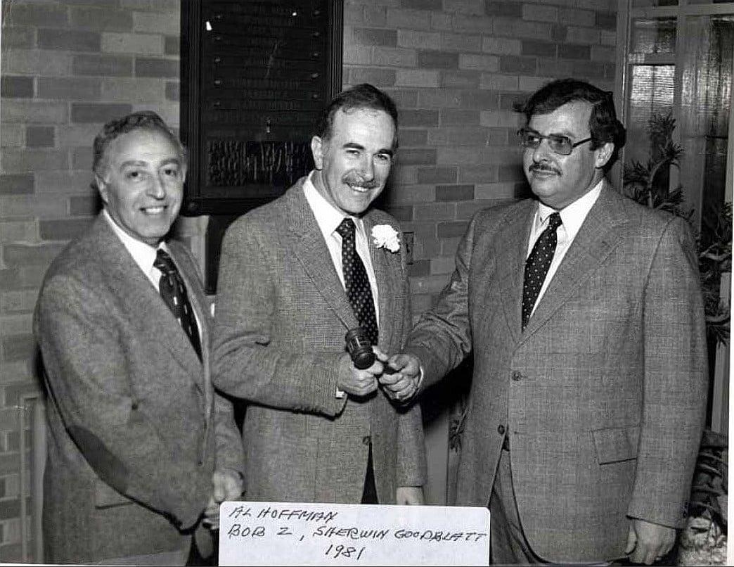 1981 Leadership Change with Al Hoffman  and Sherwin Goodblatt