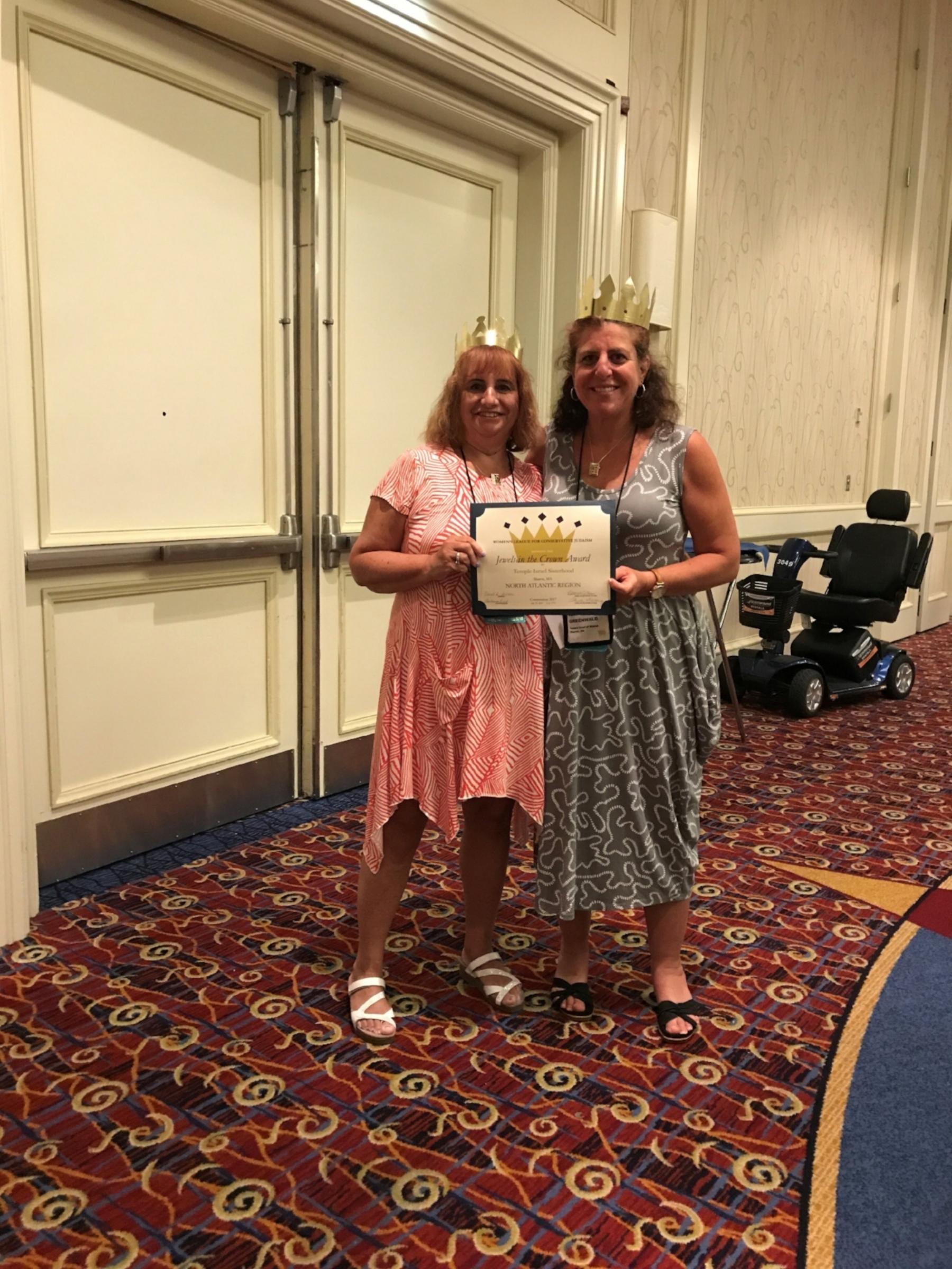 Sisterhood Jewel of the Crown Award- July 2017.jpg