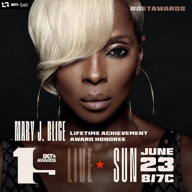A well deserved recognition from @bet to an incredible artist @therealmaryjblige !  I've had the honor to be her #playback #mixer for the past few years and have learned so much from this #legend. How do you get there? #hardwork #love #dedication #vibe