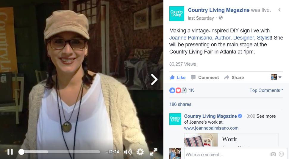 LINK:https://www.facebook.com/CountryLiving/videos/