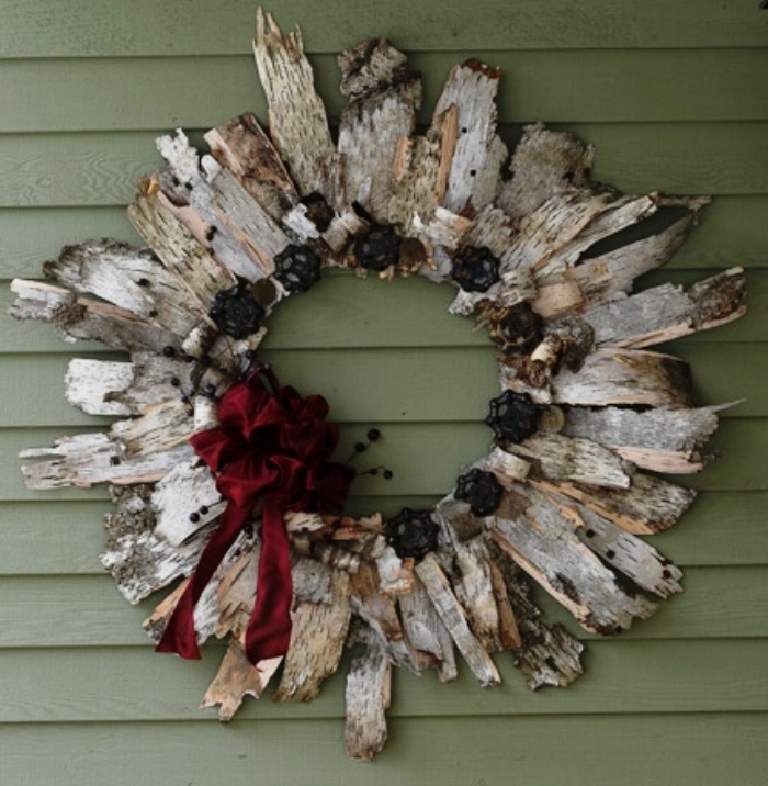 Go for a walk with the family and pick up scrap birch bark (from the ground only).  Here are some birch bark ideas…