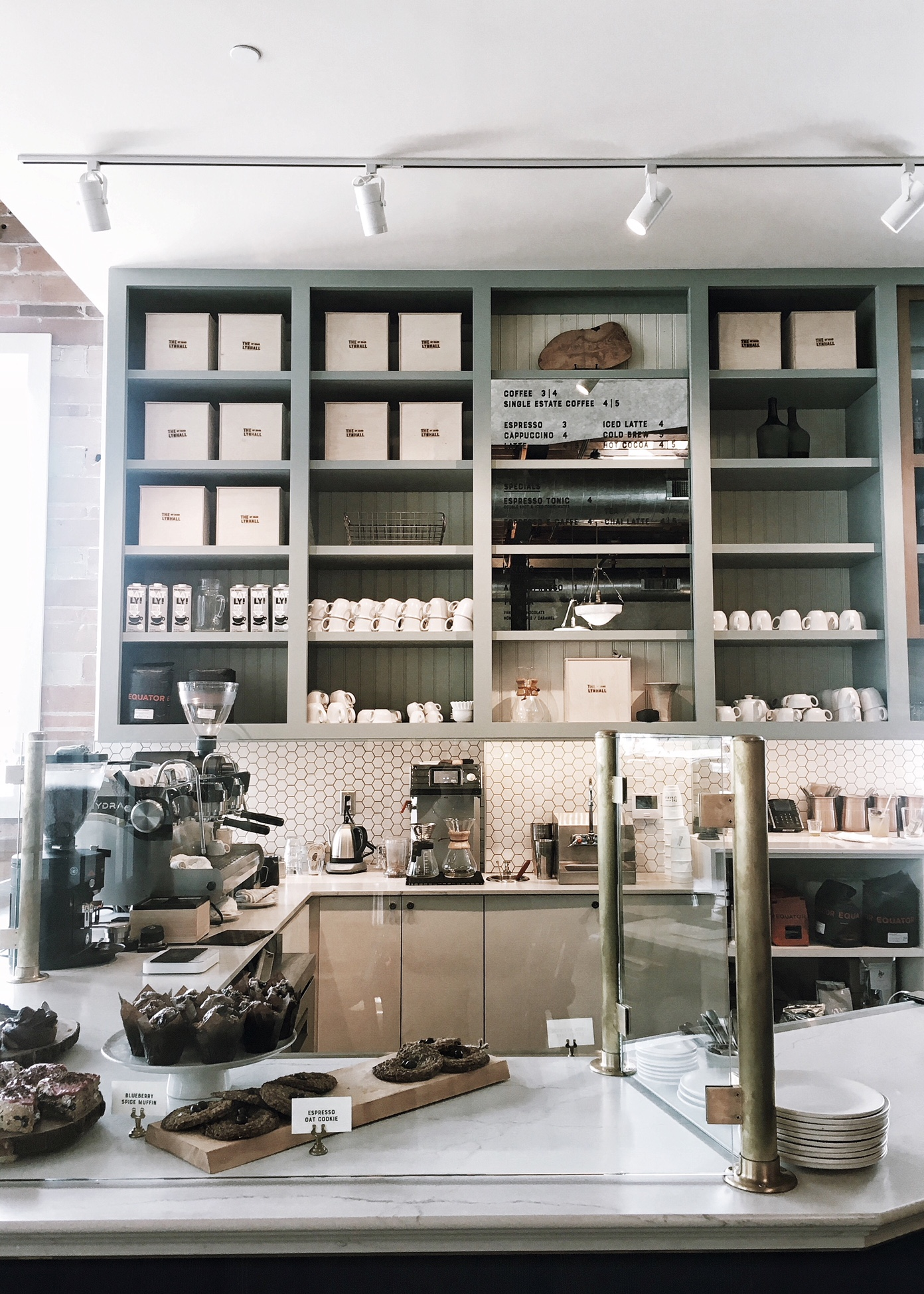 Love their pastry case!