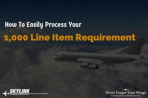 Skylink, Line Item Requirement