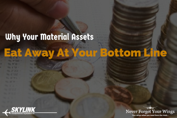 Why your material assets eat away at your bottom line