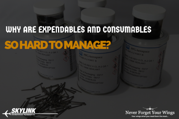 Why Are Expendables And Consumables So Hard To Manage?