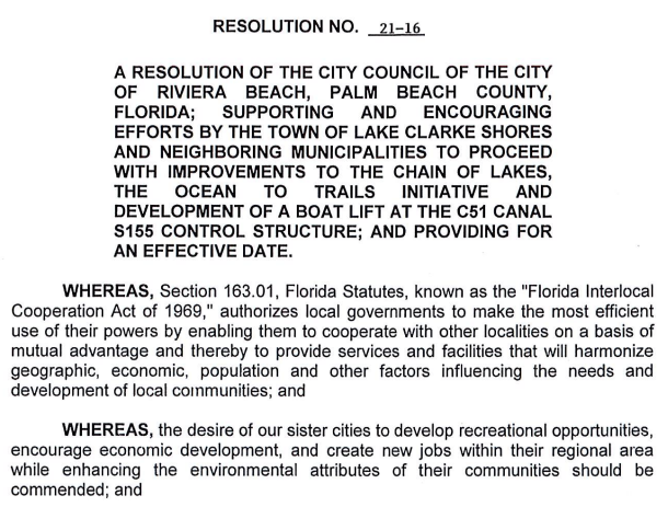 Riviera Beach Resolution 21-16 (PDF)