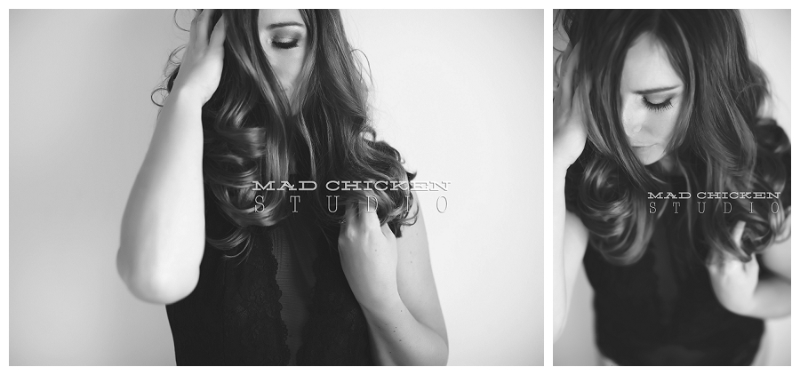duluth boudoir photography session by mad chicken studio | lingerie by h&m