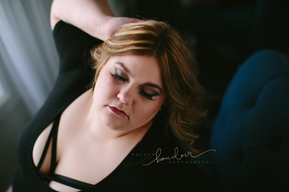 Curvy Boudoir Photography in Duluth, MN