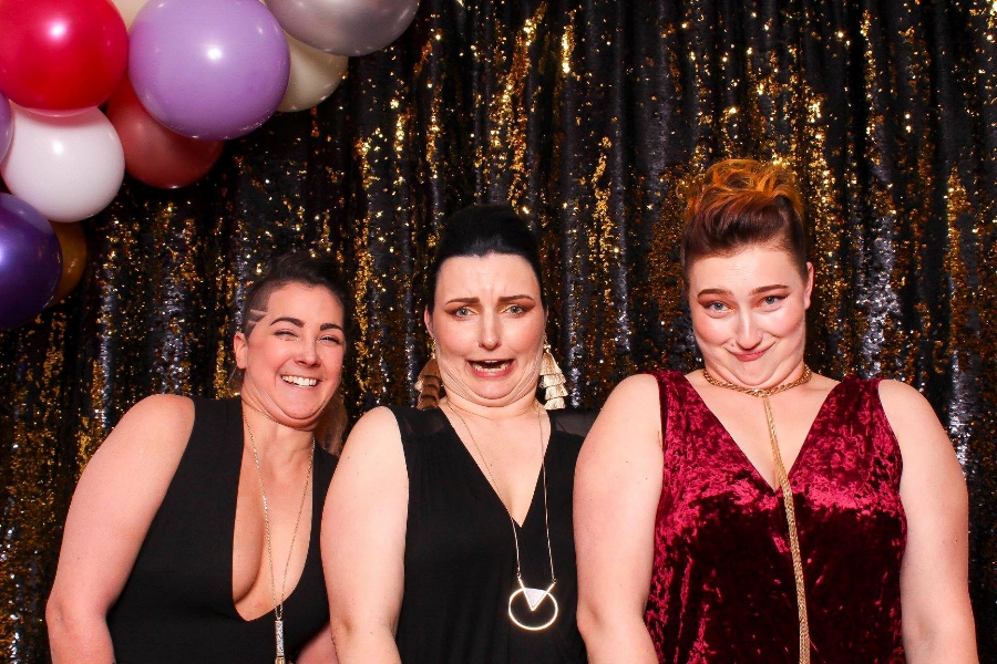 Wildbooth Photo Booth at Duluth Boudoir Photography Grand Opening