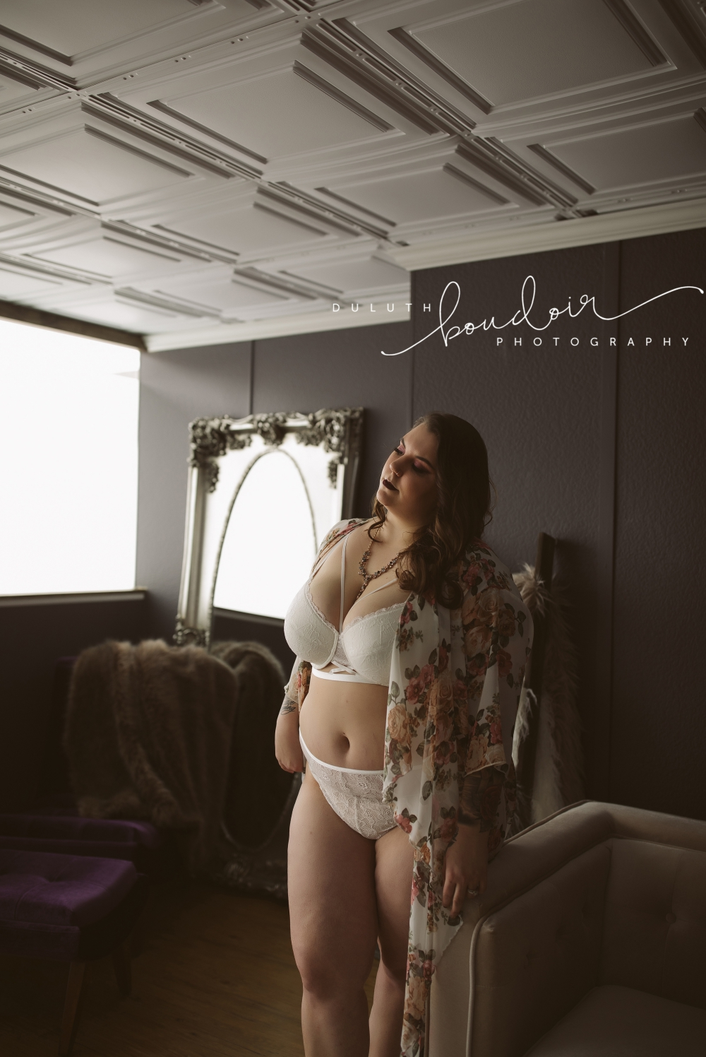 Lauren Session at Duluth Boudoir Photography by Mad Chicken Studio #duluthboudoirphotography #madchickenstudio #madchickenstudioboudoir #duluthboudoir