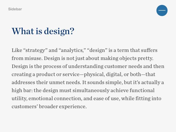 ¿Qué es el diseño?