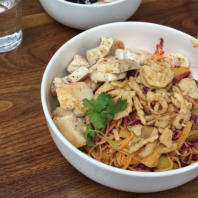 We can't get enough of @barbantam lately! Their lunch bowls are becoming fav's (especially The Noodle Incident & Disco Bowl - pictured) and dinners have been phenomenal. We were happy to try the Cauliflower Carbonara before it left the winter menu (@barbantam... you'll bring this back right 😜). New spring menu launches today! What do you love at Bar Bantam? #roc #rochesterny #barbantam #explorerochester #eatlocalroc #thisisroc #roceats