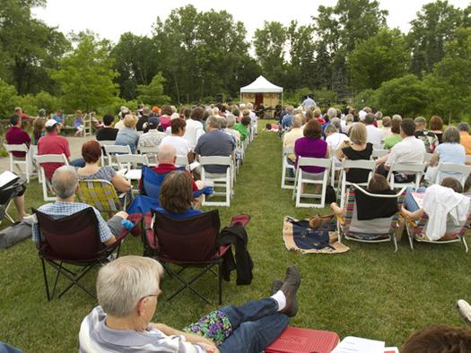 Matthaei Botanical Gardens, Universi  ty of Michigan, Ann Arbor, MI - June 21, 2013