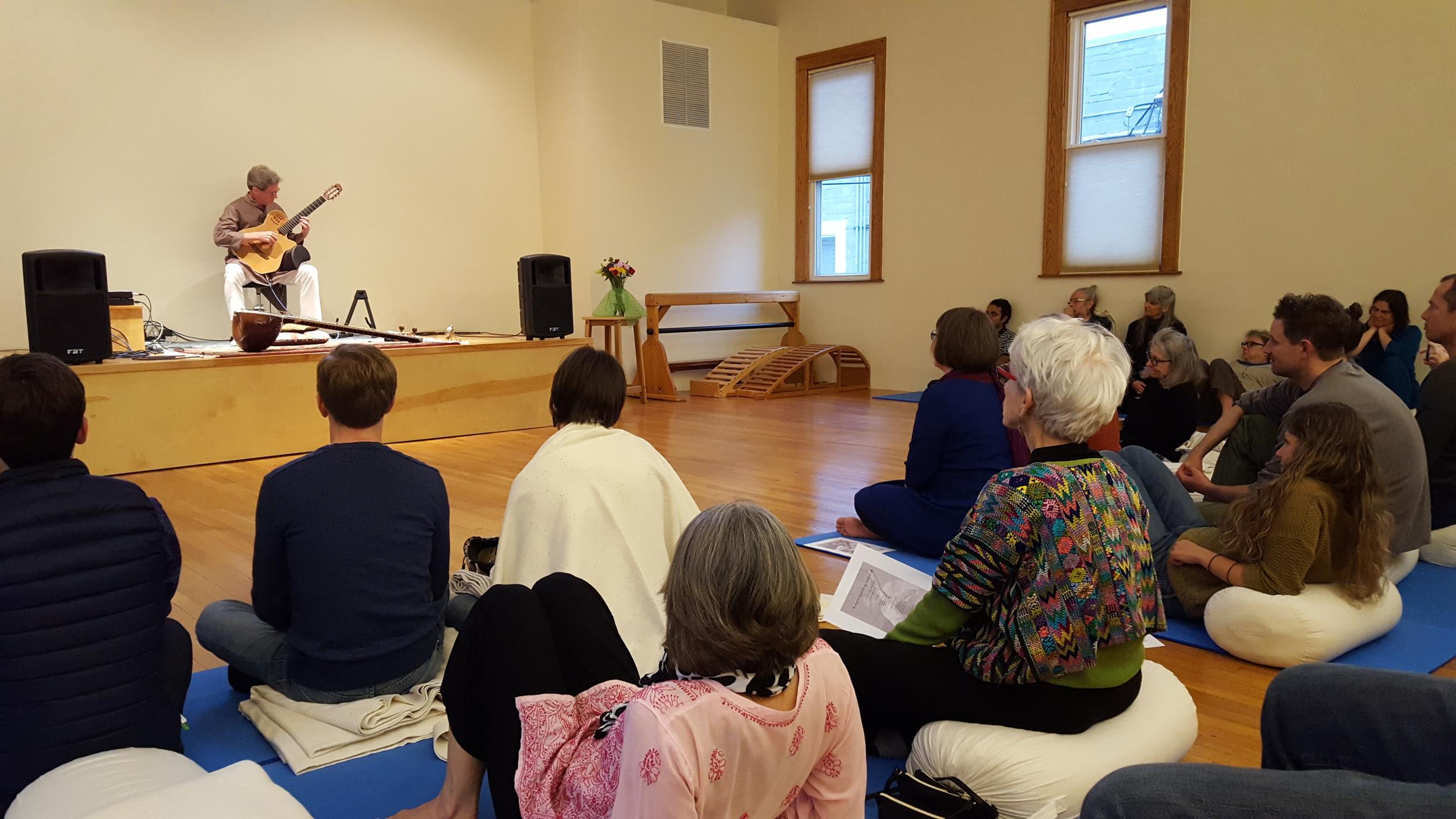 Ann Arbor School of Yoga - April 30, 2016