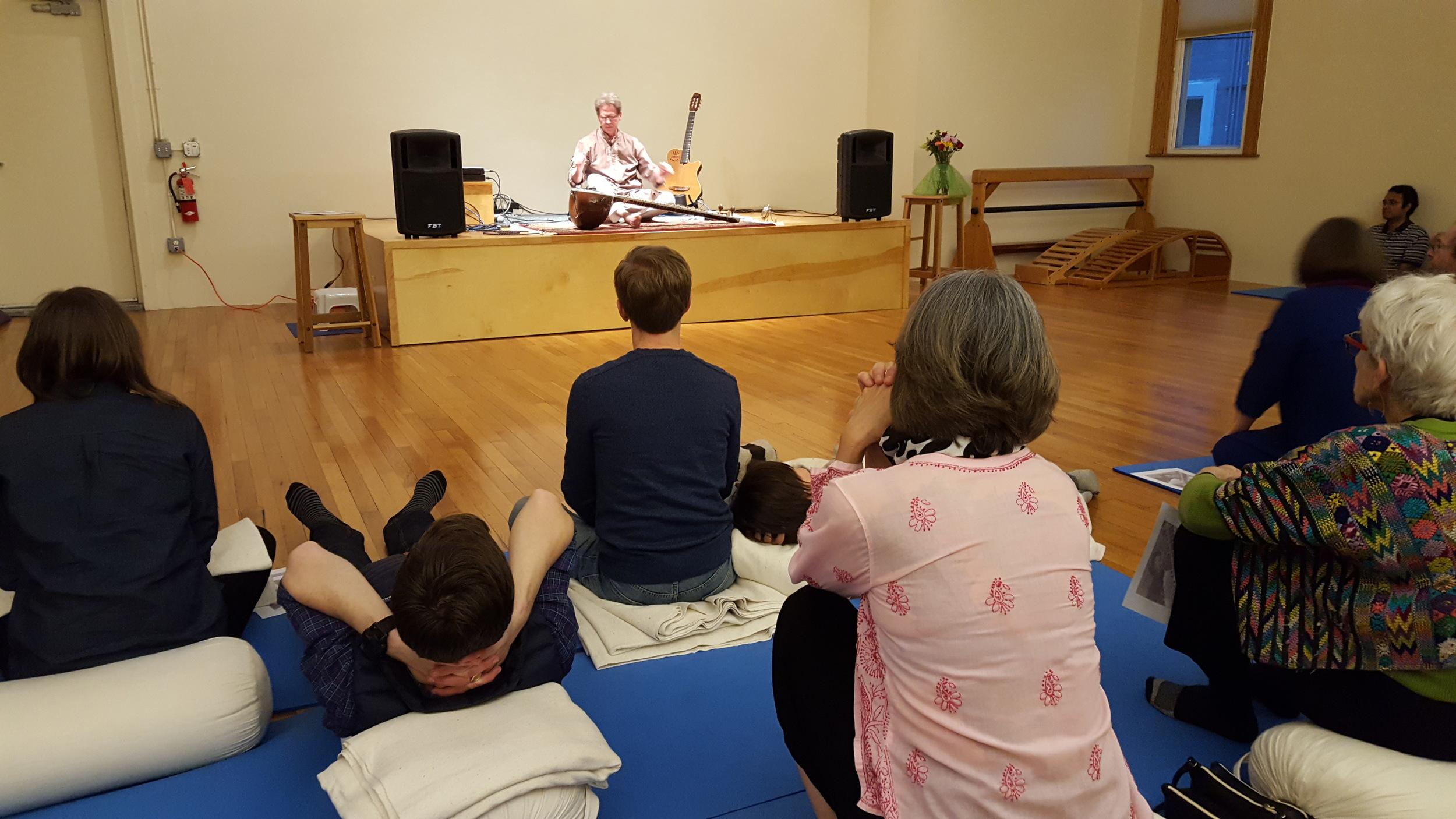 Ann Arbor School of Yoga - April 30, 2016 (Photo by Grace Chung)