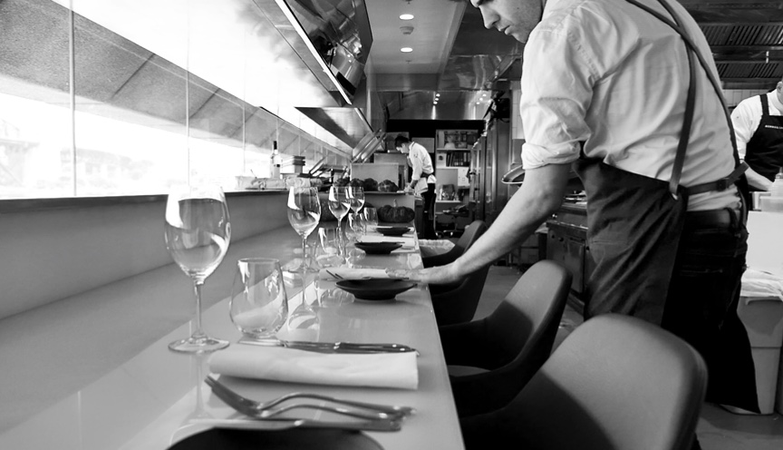 CHEFS TABLE AT BENNELONG.