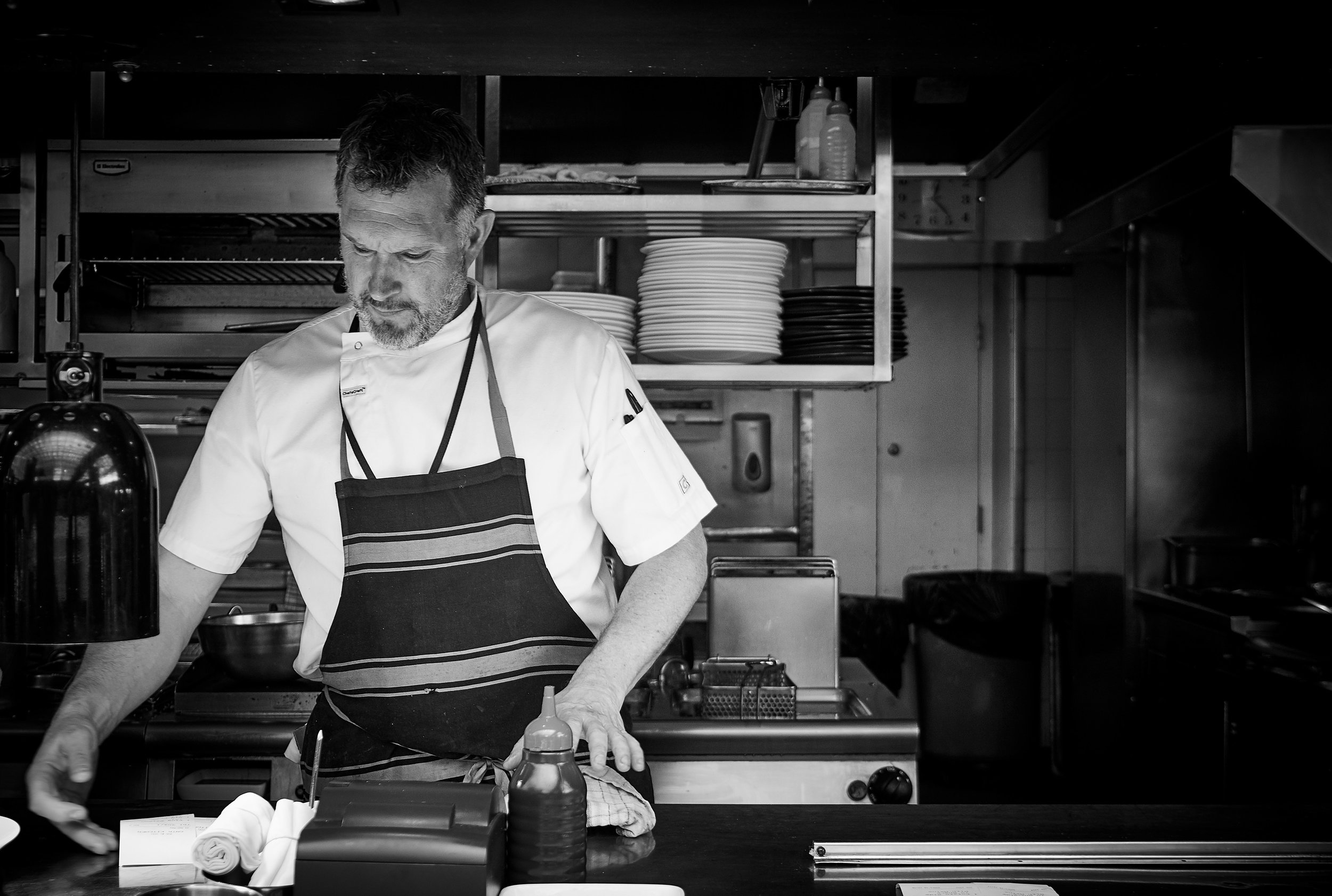 EXECUTIVE HEAD CHEF JAMES KIDMAN