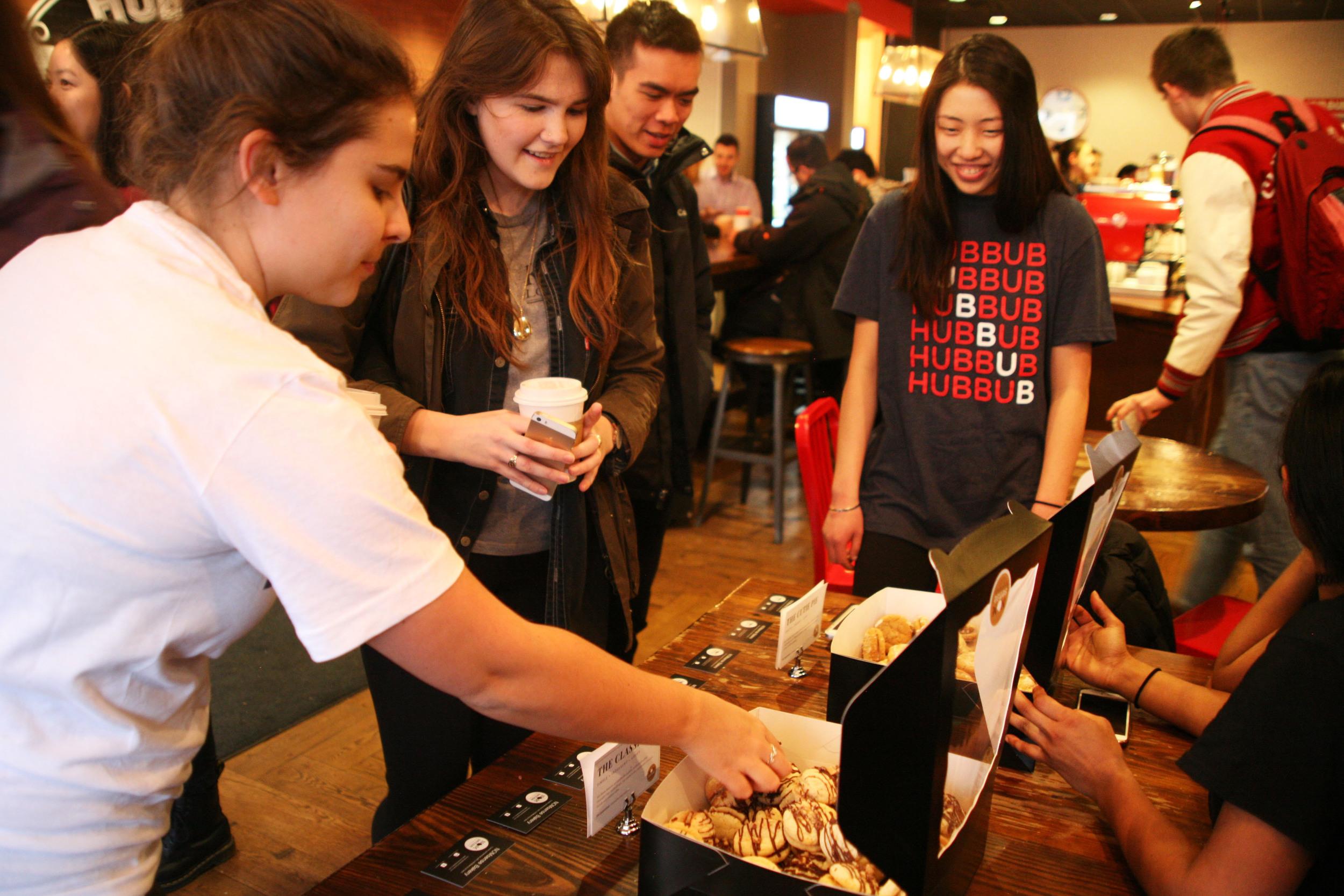 NOMsense Bakery x HubBub Coffee happy hour.