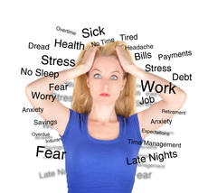 A common cause of insomnia can be the multiple stressors in your life.