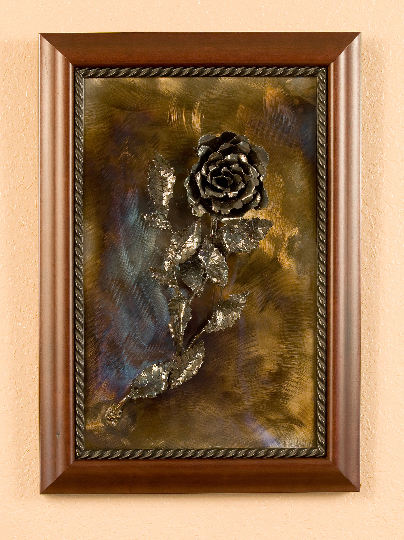 Rose (wooden frame)