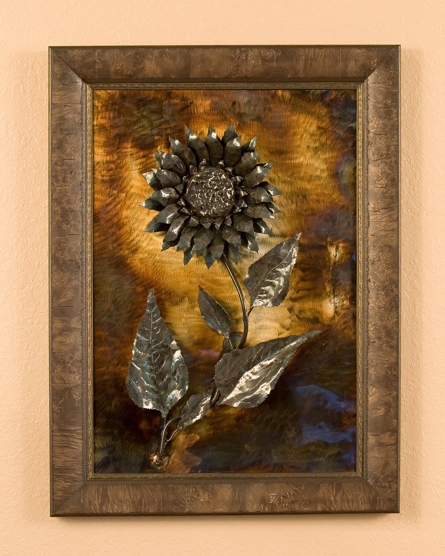Sunflower (wooden frame)