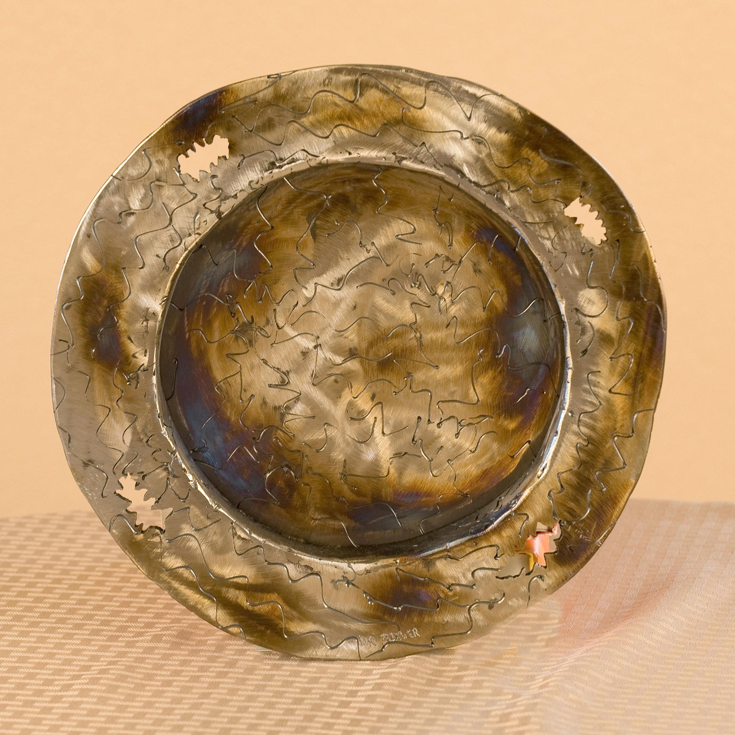 Round Swirl Plate