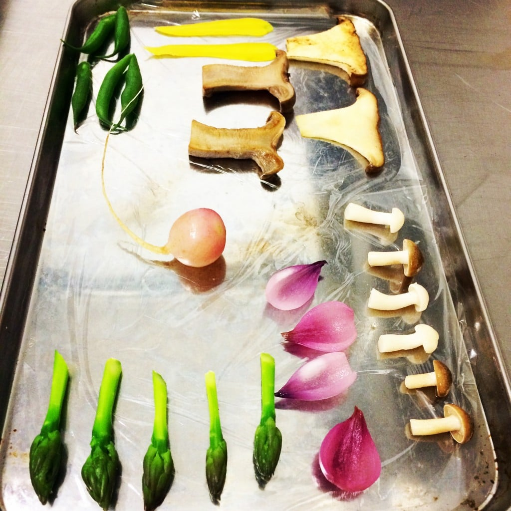 Chef Cam's Mise-en-place
