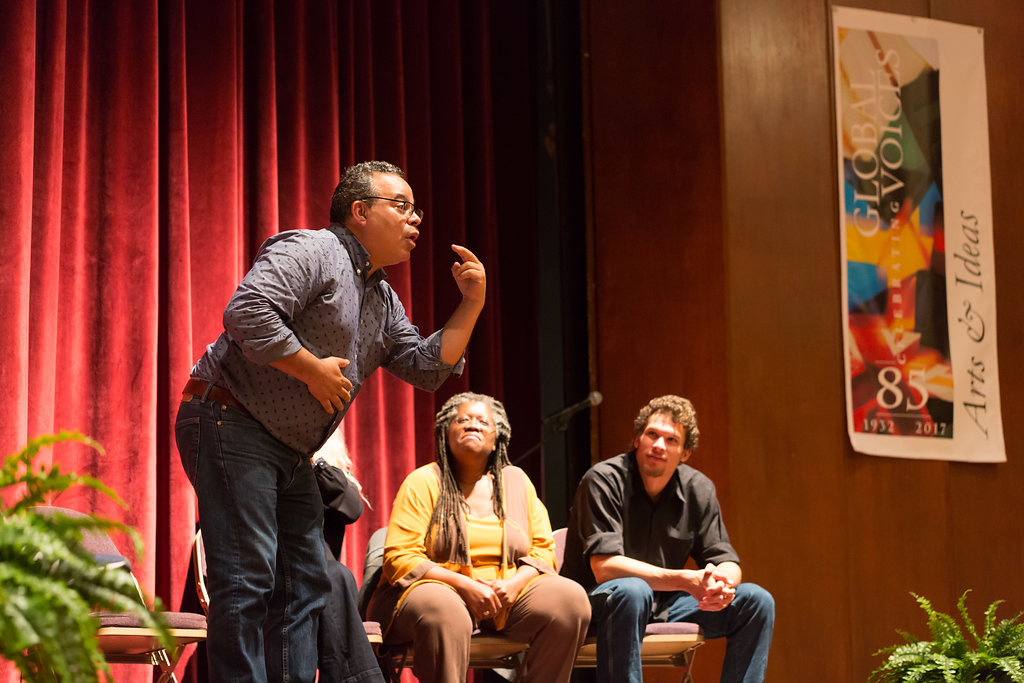 Storytelling Performance in American Sign Language (click to view more)