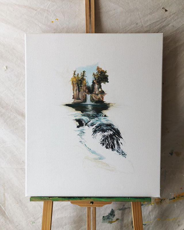 P R O G R E S S . . . . . #paintinginprogress #wip #oilpainting #oiloncanvas #art #artforsale #northwestartist