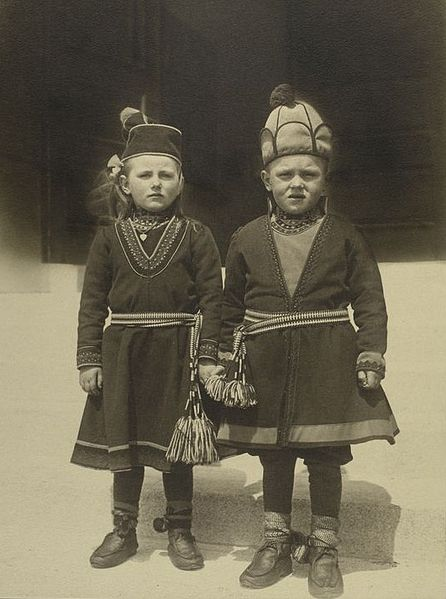 Lappland Immigrants, Source:  Wikimedia Commons
