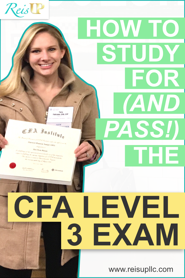ReisUP How to Pass CFA Level 3 Exam