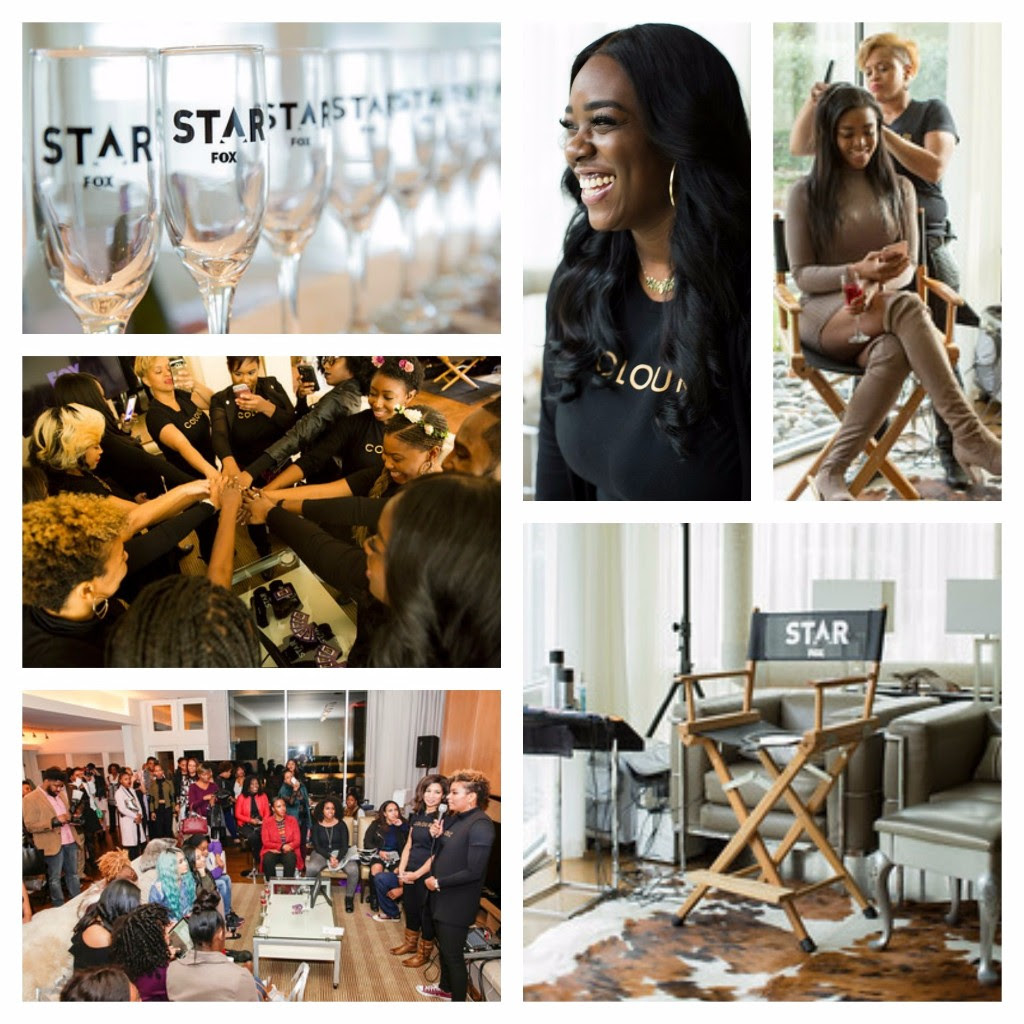 star on fox glam party hosted by colour atlanta