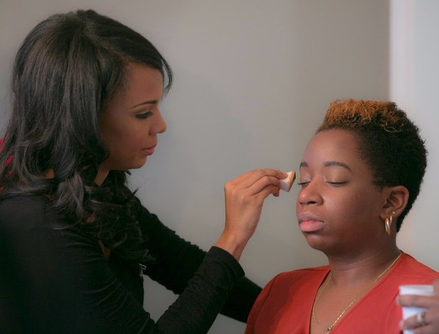 GetColour Artist Applying Makeup