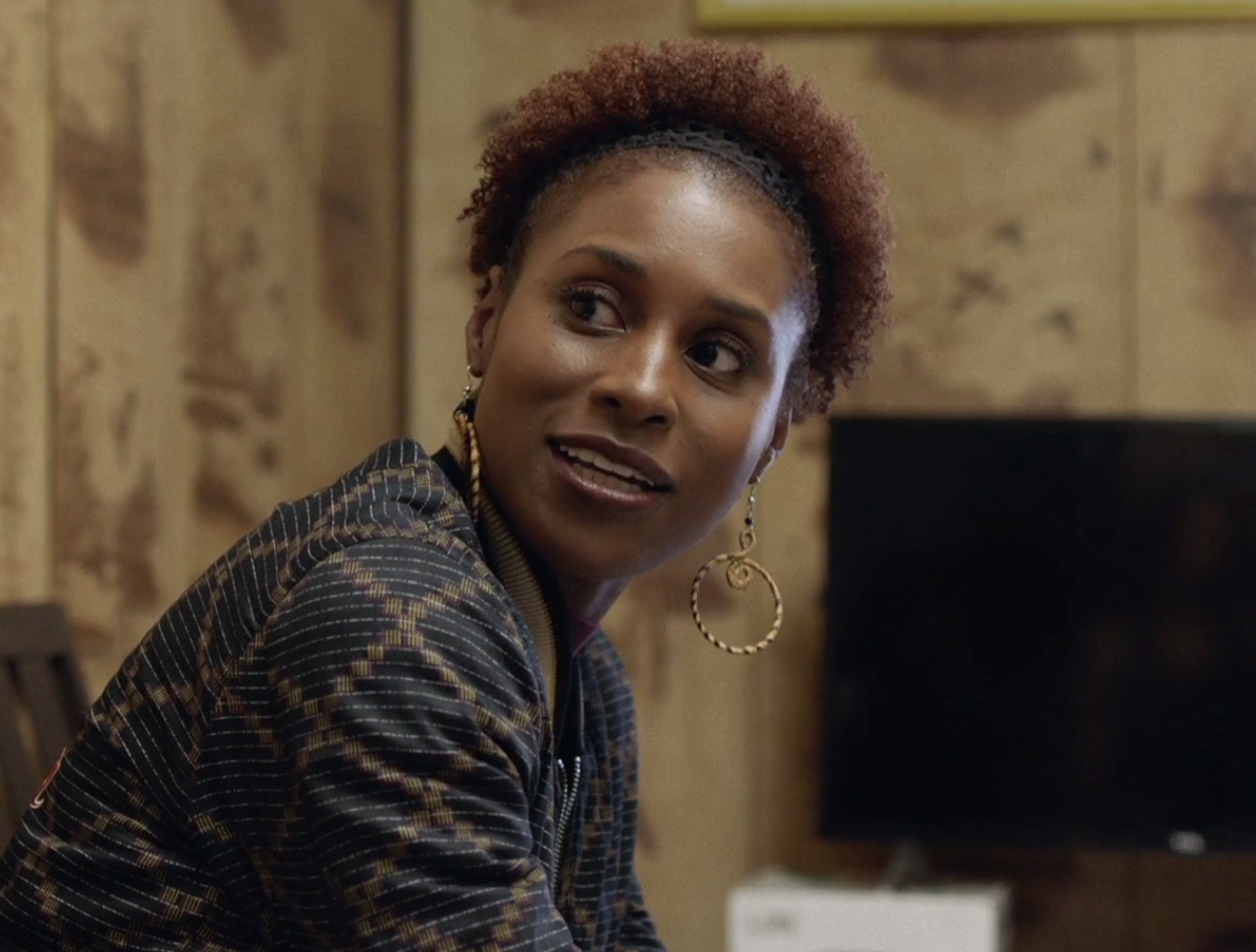Wash and Go Puff Issa Rae Wore on HBO Insecure Hella Blow