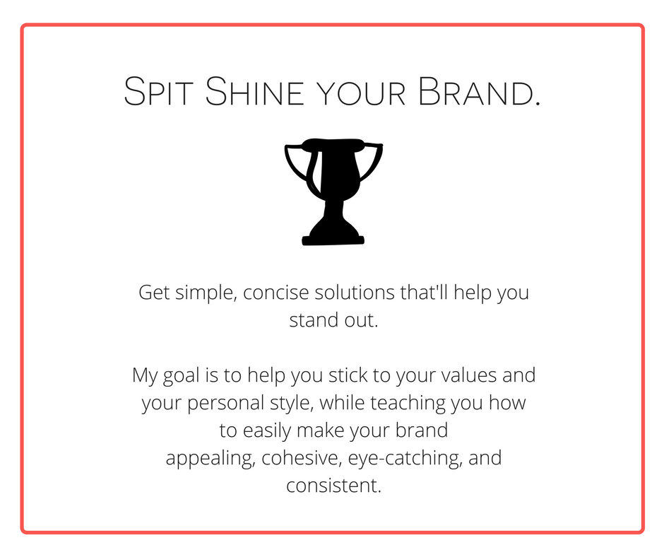 spit shine your brand