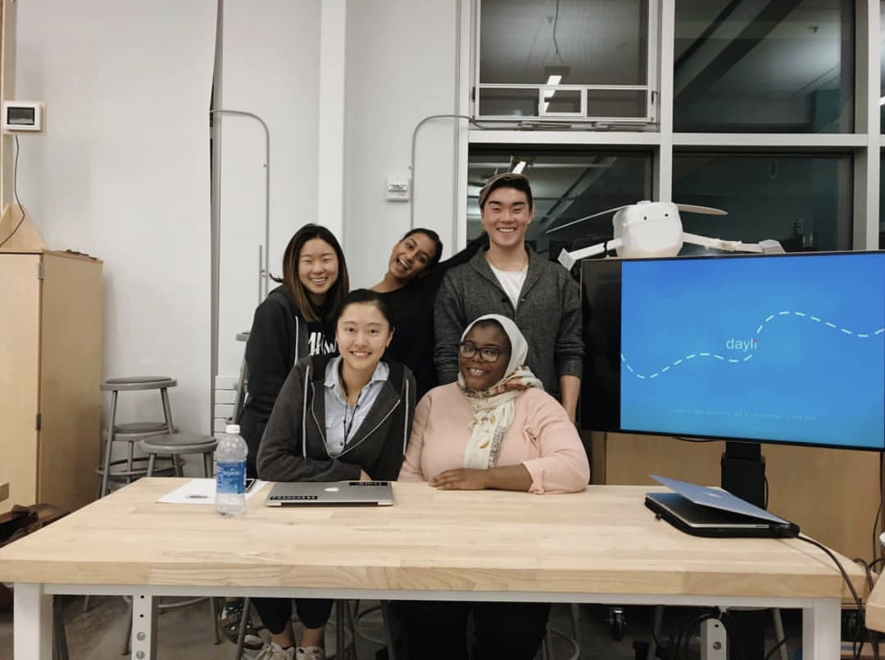 My lovely team during the class design showcase!