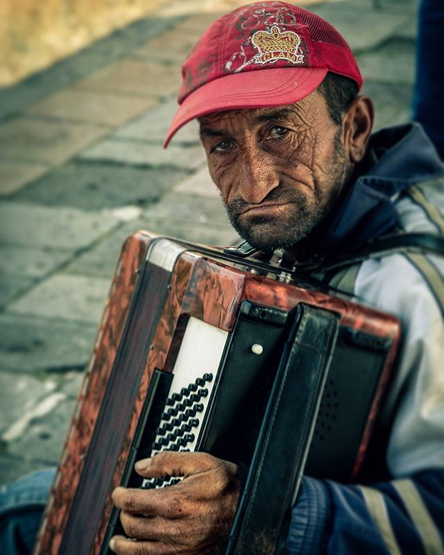 I dropped around 540 Dram into his accordion case as he played. He briefly made eye contact and nodded as a sign of gratitude. He kept playing. There were no words to confuse the meaning of the music. Pain. Anger. Sorrow. Lament. I'd heard the same sound on countless street corners in Armenia. Not more than 30 minutes later I heard a man singing outside of a market. I asked our translator what he was singing about. He told me the man was singing about the genocide. Over 1.5 million murdered. Over 100 years of lament. The music goes on.