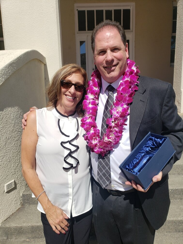 2019 Business Citizen of the Year, Award Winner Jeff Laine and wife Kimberly Laine