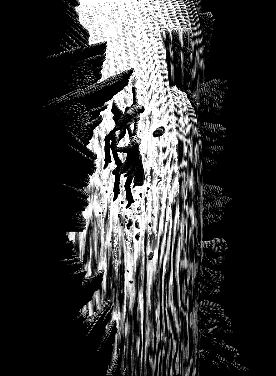 The Shadow of Reichenbach Falls