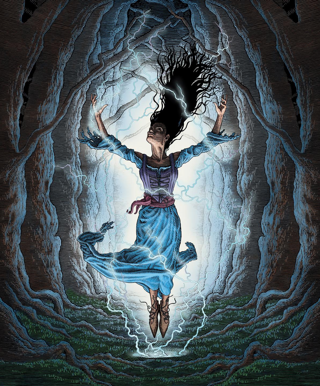 LA12: I Am Alice, Cover