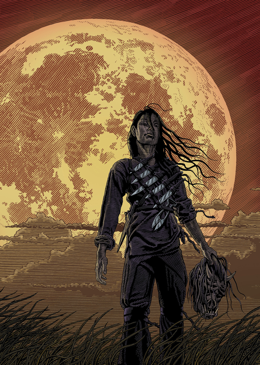 LA9: Grimalkin the Witch Assassin, Cover