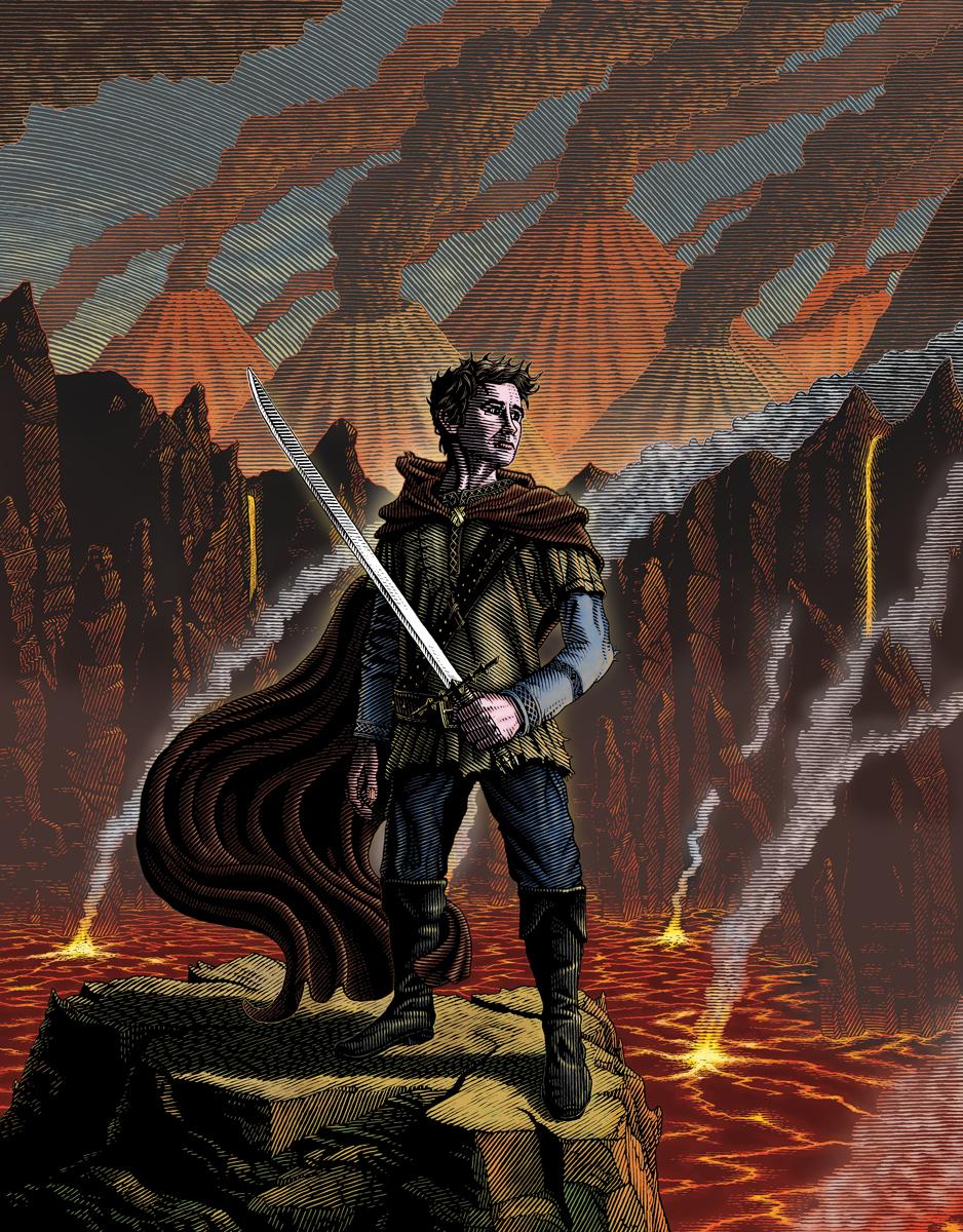 LA13: Fury of the Seventh Son, Cover