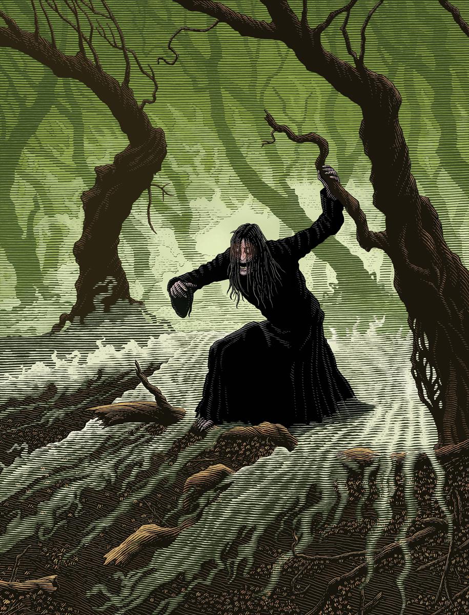 LA: The Spook's Tale, Cover