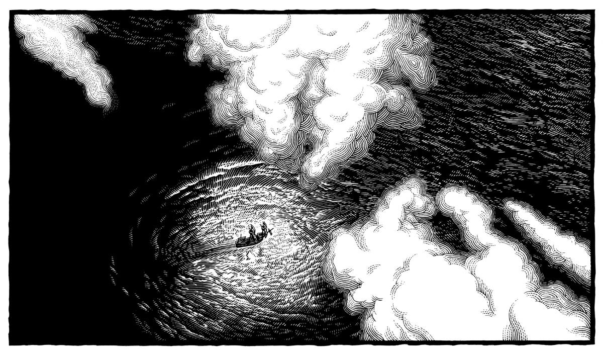 History of Magic in North America, Ship on the Sea