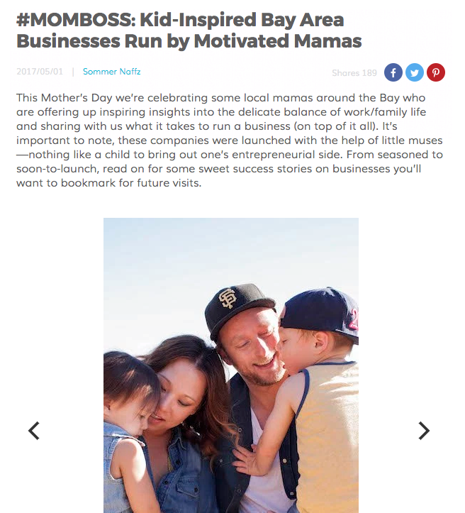 RED TRICYCLE:   #MOMBOSS: Kid-Inspired Bay Area Businesses Run by Motivated Mamas