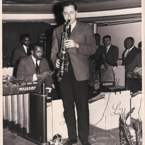 Pete Yellin with Lionel Hampton Band