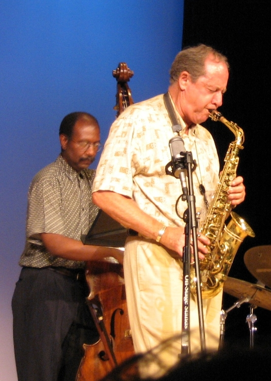 Pete Yellin and Marcus McLaurine, Vermont Jazz Center