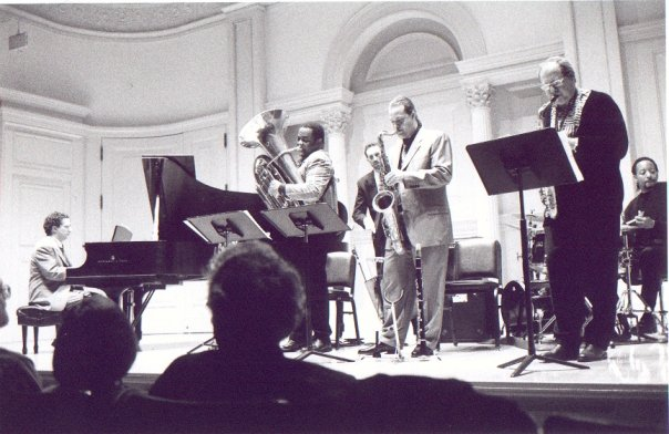 "Pete Yellin with American Music Group Sextet ""Influences Charles Mingus"" Carnegie hall, NYC, 1998"